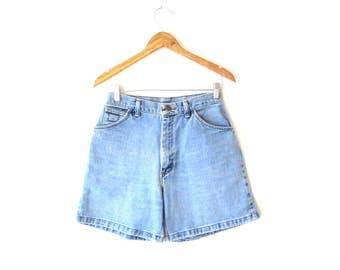 Wms Vintage 1990's WRANGLER High Waist Jean Shorts Sz 6