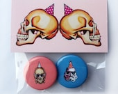 Party Hat Buttons!