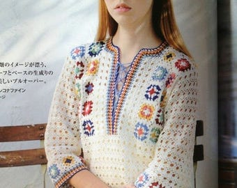 Crochet blouse, cardigal  - made to order - hand made