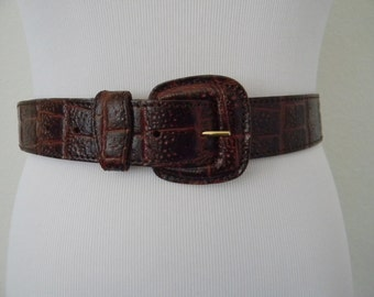 FREE usa SHIPPING Women's vintage genuine leather made in Italy