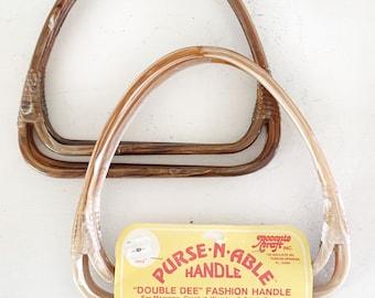 Vintage Purse N Able Bag Handles|Vintage Fabric Bag Handles|Macrame Bag Handles|Accento Crafts Bag Handles