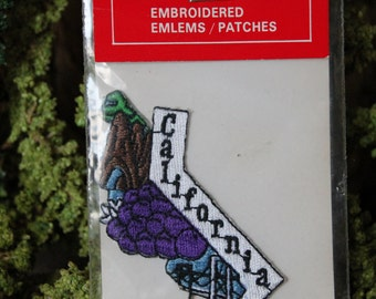 Vintage California Travel Patch