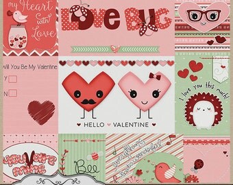 Happy Hearts Day Pocket Cards
