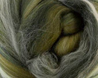 4 oz  Scotland Extra Fine Merino Wool Top (roving). - Sugar Candies Collection -  Great for Spinning and Felting