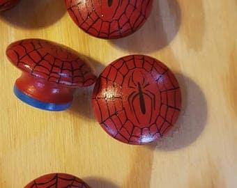 Spiderman dresser knobs