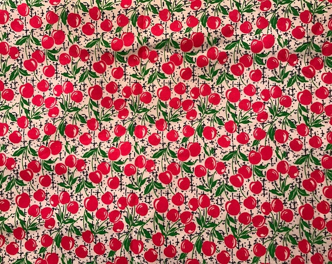 Springs Creative Products Group 2010 - Cherry CP38190 - Cotton Flannel Fabric