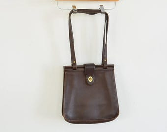 Coach Weston Bag Dowels Double Strap Brown Coach Shoulder Bag Creed G7C 9021 Leather Large Coach Bag