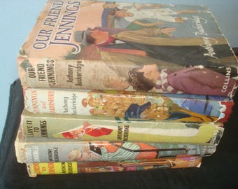 Set of 5 Jennings Reprints with Dust Jackets
