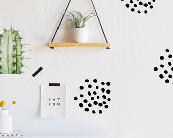 Smudged Dots - WALL DECAL