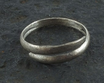 Viking Jewelry, Ancient Viking Ring, Medieval Wedding Band, Medieval Wedding ring, Viking Jewellry C.850-1100 A.D. Size 9 3/4