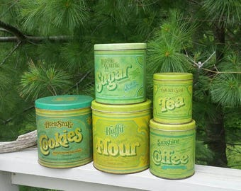 Ballonoff Canister Set with Cookie Tin