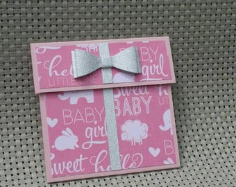 Personalized Gift Card Holder - Also works great with money! (GC0056)