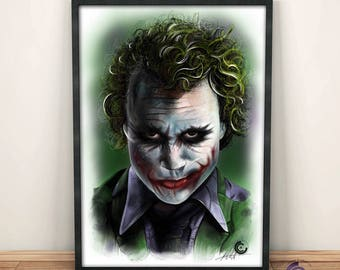 Heath Ledger Joker Limited Edition Print