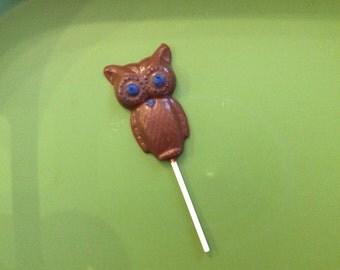 Owl Lollipop (set of 6)