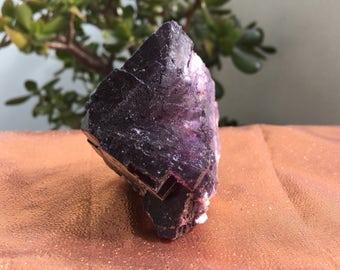 Purple Fluorite 242g