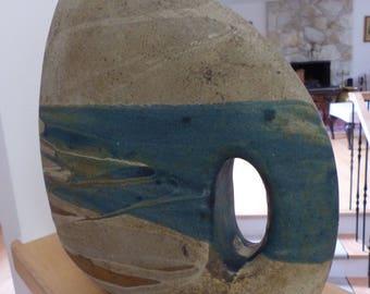Mid Century Modernist Art Studio Ceramic Sculpture