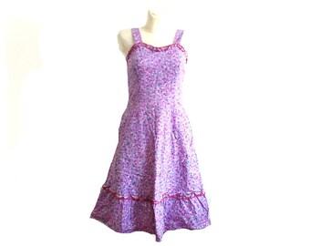 Vintage Dress / Folk dress / cotton dress