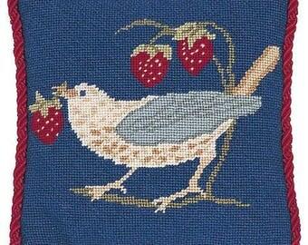 Strawberry Thief 2 Mini needlepoint tapestry kit