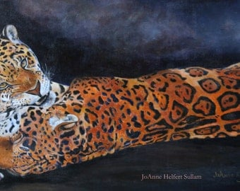 Jaguars art on canvas free shipping!