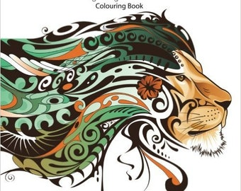 Animalized Adult Colouring Book