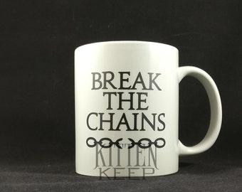 Red Rising | Book Series | Break The Chains | Coffee Mug
