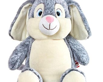 Personalized Bunny Cubby~  Custom Cubbies ~ Easter Rabbit Stuffed Animals
