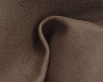 """Shades of Taupe Leather 12"""" x 12"""" Project Piece 2 ounces TA-55382 (Sec. 5,Shelf 3,C)"""