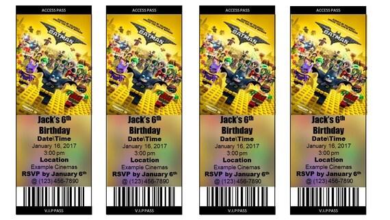 il_570xN.1160562939_fnc3 the lego batman movie ticket invitation style 2 print at,Lego Batman Movie Invitations