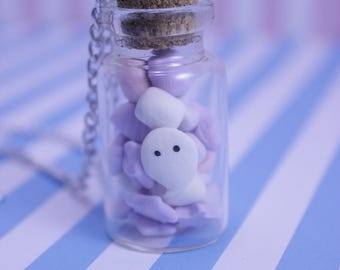 Marshmallow Ghost Necklace