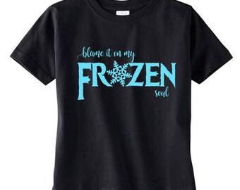 Blame it on my Frozen Soul, Elsa, Anna