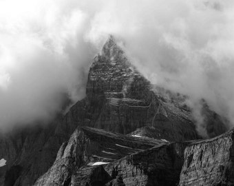 Glacier National Park Photograph, Lake McDonald Photography Print, Montana, Going to the Sun Road, Wall Decor Swiftcurrent Lake, Fine Art