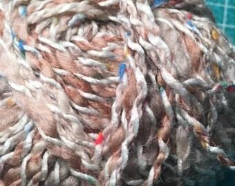 Discontinued Patons Gypsy Tweed - Aran Weight Wool blend yarn - Clr 8295