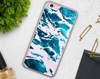 Ocean iPhone Case Sea iPhone 6s Case Water Case iPhone 7 Case Phone case iPhone 5 Samsung Galaxy S6 Case S7 Case S5 Case