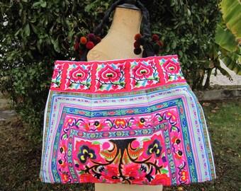 Handbag, shoulder bag, tote bag, bag multicolor shopping, ethnic 10