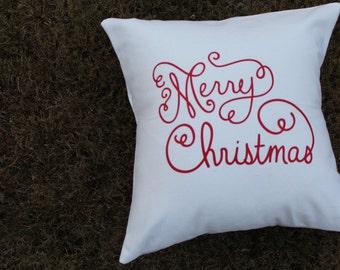 Christmas Pillowcase Etsy