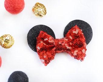 Traditional Mini Sparkle Bow Ears