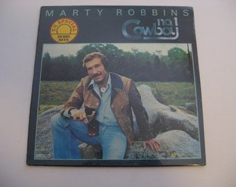 Factory Sealed! - Marty Robbins - #1 Cowboy - 20 Big Hits - Circa 1980