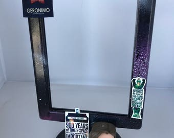 Dr Who Space Picture Frame - Eleventh Doctor - Geronimo