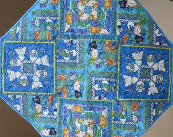 Kitty Angel Table Topper or Wall Hanging