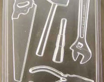 Carpenter Tool Pieces chocolate mold (ao1131)