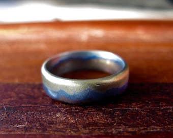 """Niobium """"Landscape"""" Ring"""