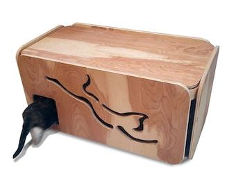 litter box etsy. Black Bedroom Furniture Sets. Home Design Ideas