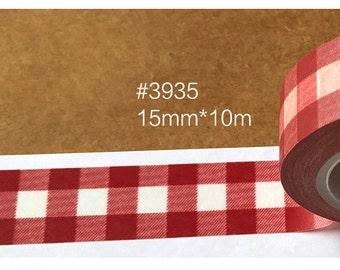 Grids  Washi Tape -- Masking Washi Tape -Deco tape-- 15mm x10M