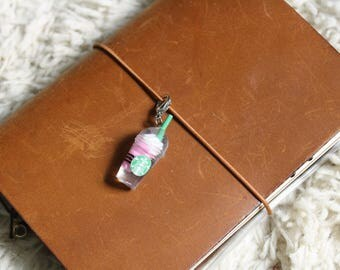 Starbucks Strawberries and Cream Frappuccino Planner Charm