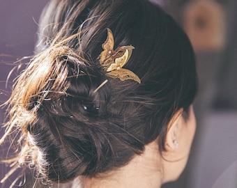 Former Golden Butterfly comb