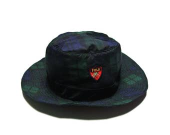 Summer Sale FREE SHIPPING 90s Vintage Ralph Lauren Bucket Hat Ralph Lauren Polo Golf Hat Ralph Lauren Polo Sport Golf Bucket Hat Bucket Hat