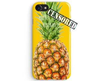Mother F*cking Pineapples - iPhone 7 case, Samsung galaxy S8 case iPhone 6 iphone 7 plus samsung galaxy S7 iphone SE 1P074