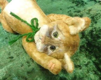 Basil ooak teddy cat artist fnna rudenko
