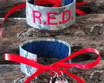 BRAND NEW ** R.E.D. Air Force Bracelet