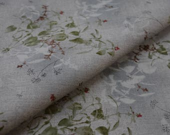 Japanese cotton, Taupe Fabric, DAIWABO TS23031S-E